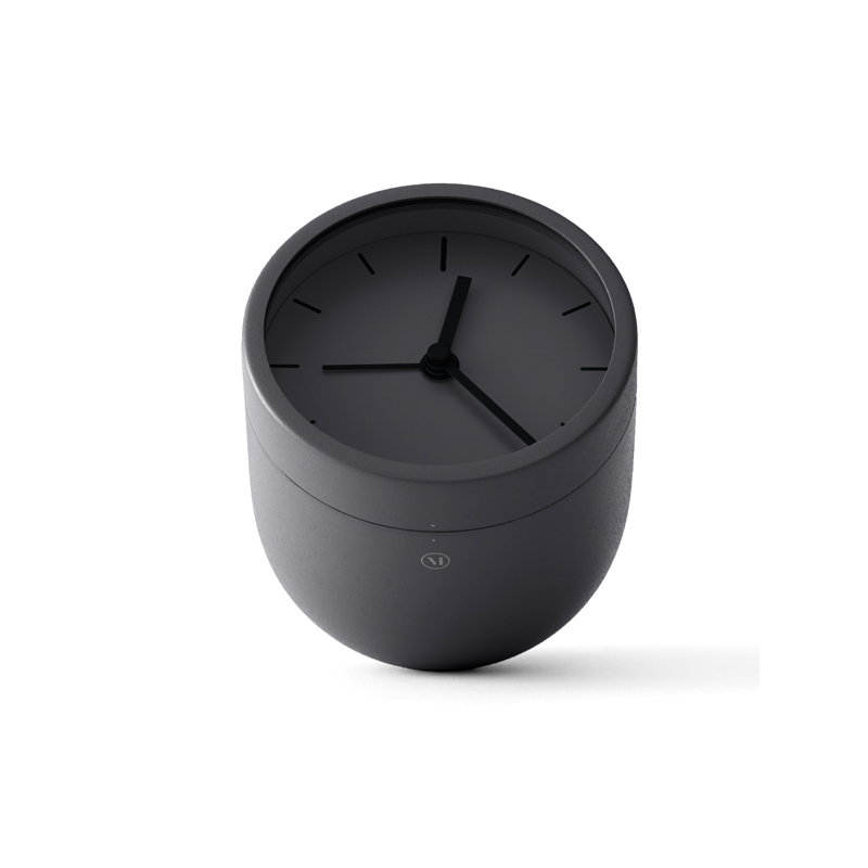 Menu Norm Tumbler Alarm Clock Carbon Finnish Design Shop