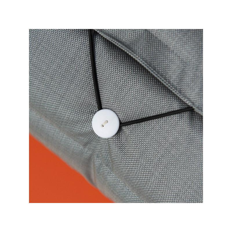 fermob seat cushion for bistro metal chaise longue steel grey finnish design shop. Black Bedroom Furniture Sets. Home Design Ideas
