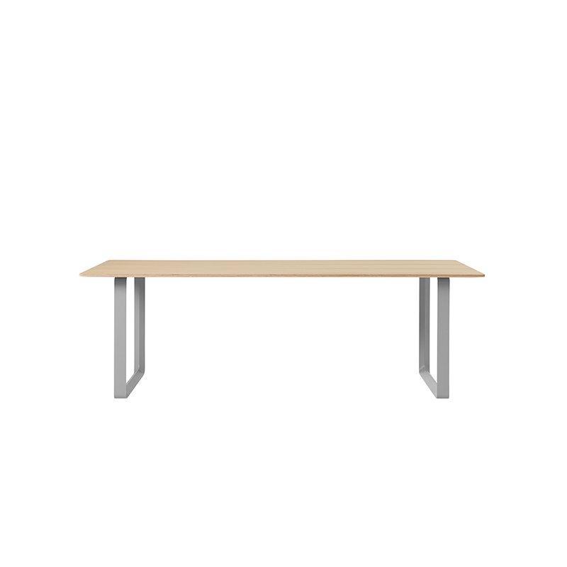 70/70 Table 225 X 90 Cm, Oak Table Top