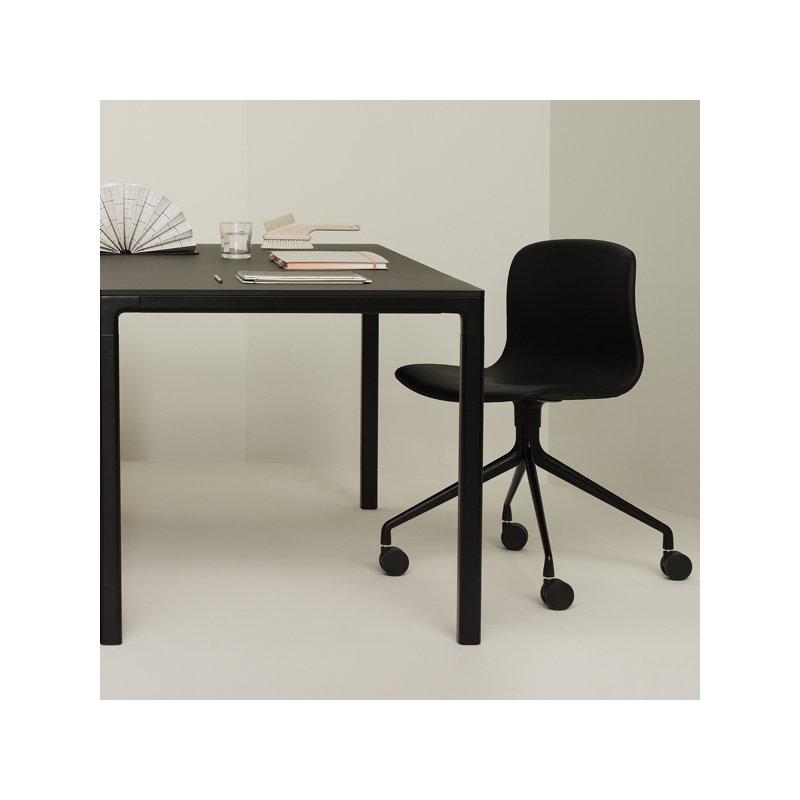 Hay sedia da scrivania about a chair aac14 bianca for Sedia design scrivania
