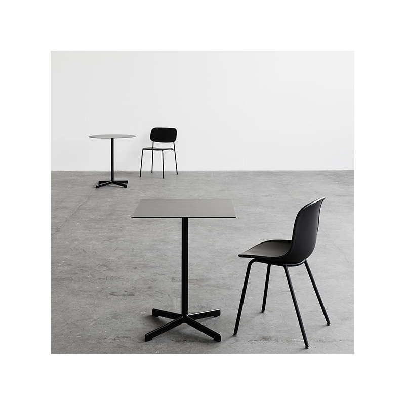 Hay Tavolo Neu Quadrato Grigio Carbone Finnish Design Shop