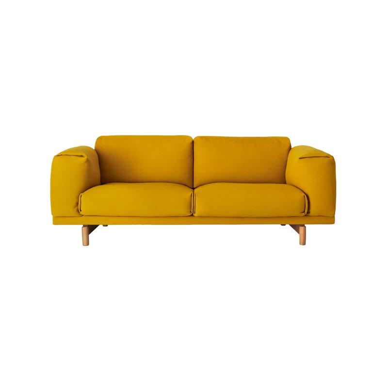 muuto rest sofa 2 seater finnish design shop. Black Bedroom Furniture Sets. Home Design Ideas