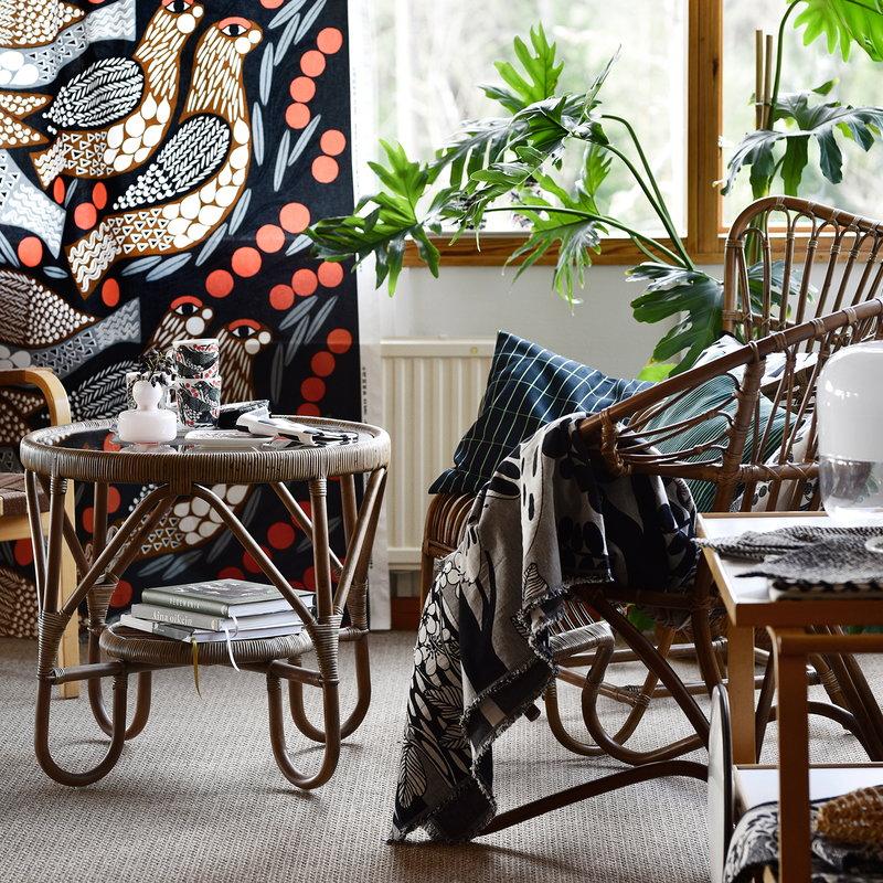 marimekko kiiruna fabric finnish design shop. Black Bedroom Furniture Sets. Home Design Ideas