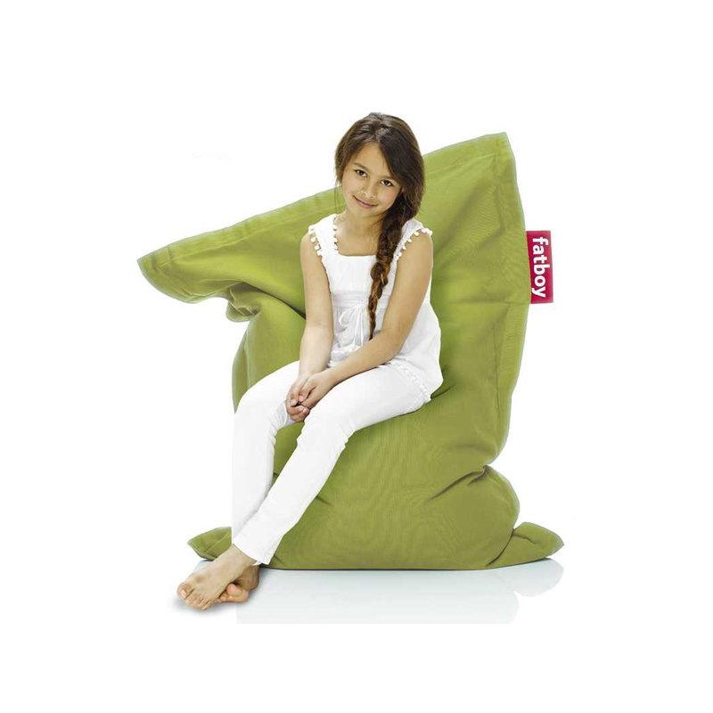 fatboy junior stonewashed bean bag lime finnish design shop. Black Bedroom Furniture Sets. Home Design Ideas