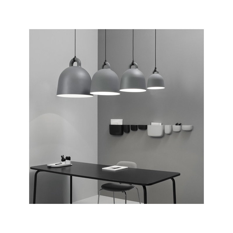 normann copenhagen bell lamp s grey finnish design shop. Black Bedroom Furniture Sets. Home Design Ideas