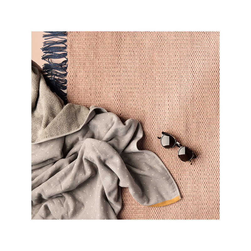 ferm living nomad rug large rose finnish design shop. Black Bedroom Furniture Sets. Home Design Ideas