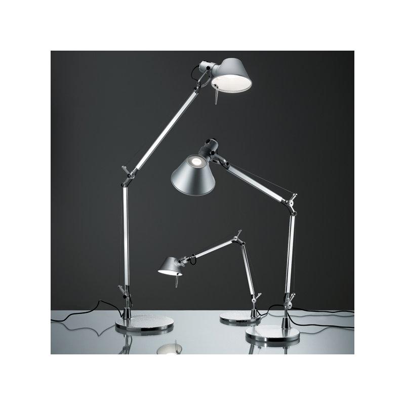 artemide tolomeo mini table lamp black finnish design shop. Black Bedroom Furniture Sets. Home Design Ideas
