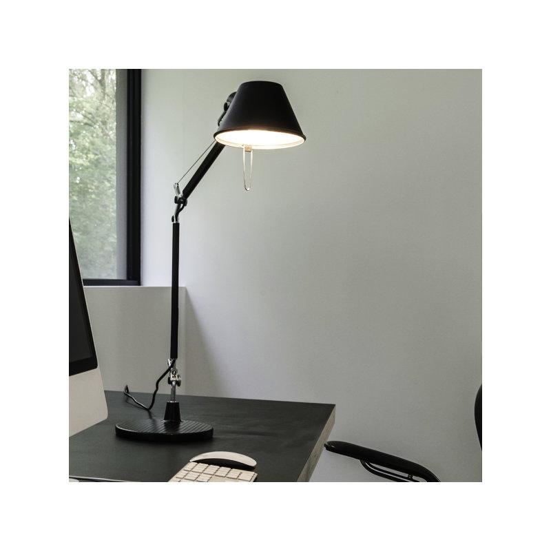 Artemide lampada da tavolo tolomeo alluminio finnish - Lampada da tavolo tolomeo ...