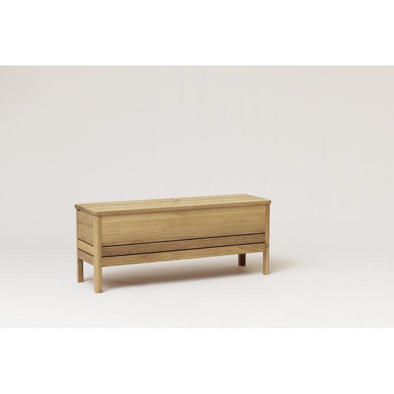 Remarkable A Line Storage Bench Oak Short Links Chair Design For Home Short Linksinfo