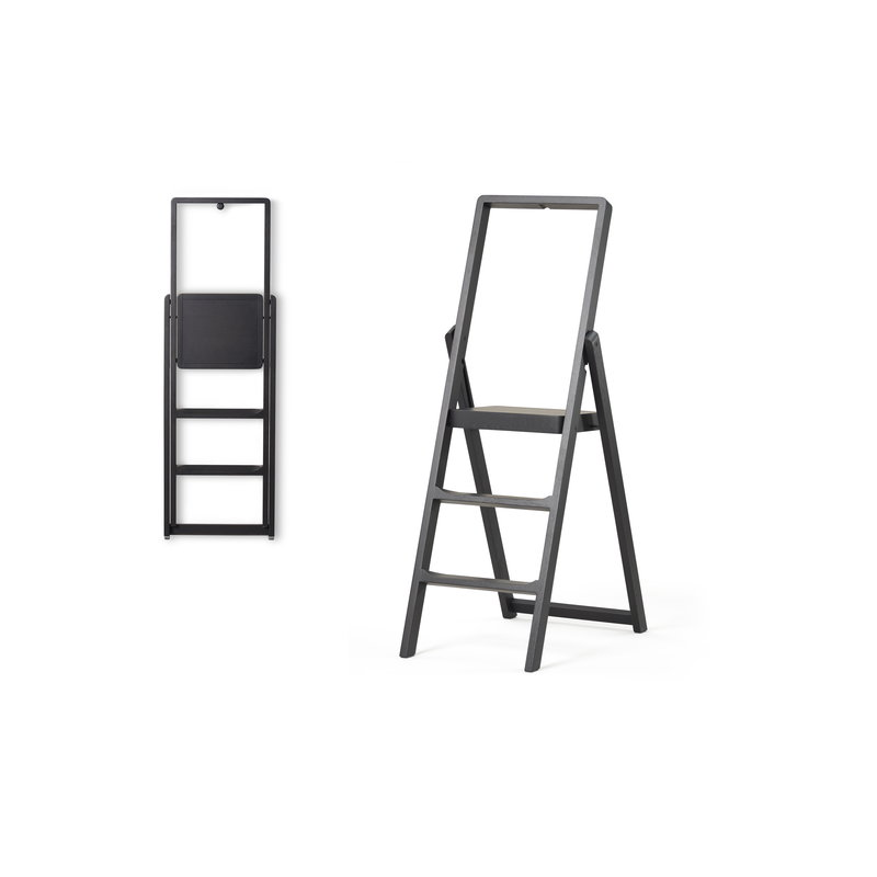 Wondrous Design House Stockholm Step Ladder Black Stained Oak Forskolin Free Trial Chair Design Images Forskolin Free Trialorg
