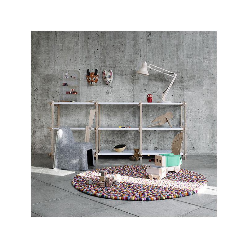 hay woody matala hylly valkoinen finnish design shop. Black Bedroom Furniture Sets. Home Design Ideas