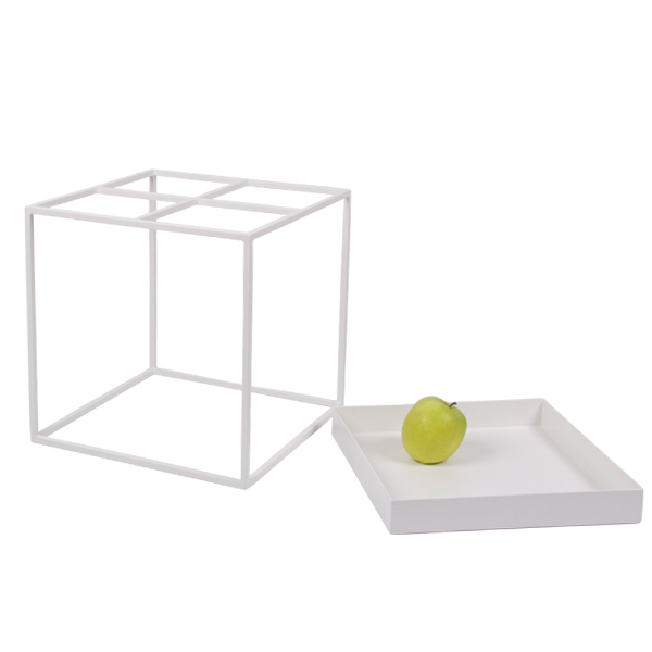 hay tray table small white finnish design shop. Black Bedroom Furniture Sets. Home Design Ideas