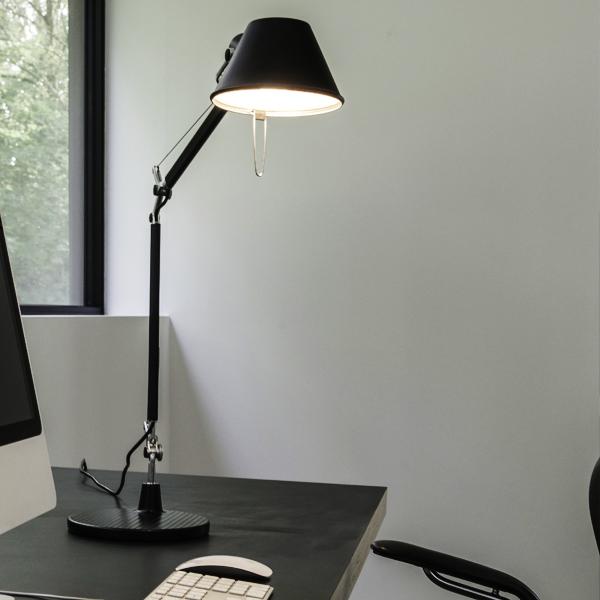 Tolomeo Mini table lamp, black - Artemide Tolomeo Mini Table Lamp, Black Finnish Design Shop