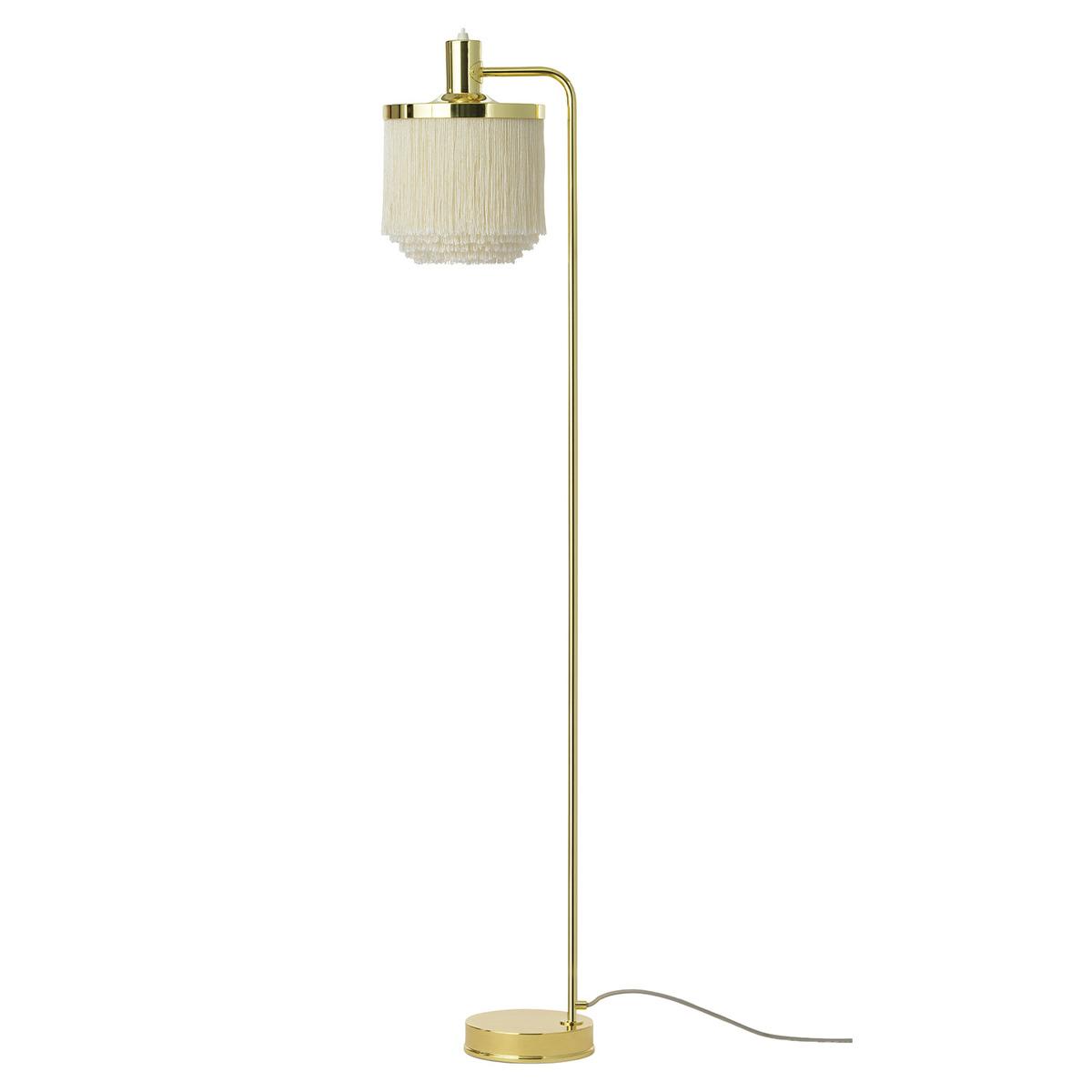 Warm Nordic Fringe Floor Lamp, Cream White