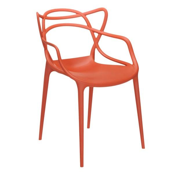 Kartell Masters chair, orange | Finnish Design Shop
