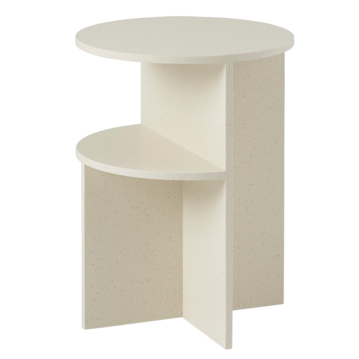 BeNeLux Home Office 2 Shelf Small Display Wood Side Table