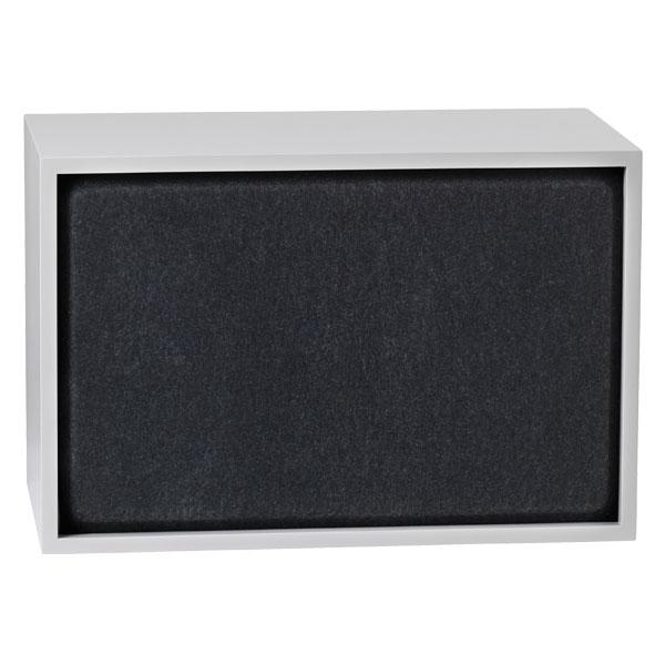 Muuto Stacked akustiikkapaneeli, iso, black melange