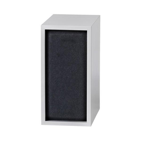 Muuto Stacked akustiikkapaneeli, pieni, black melange