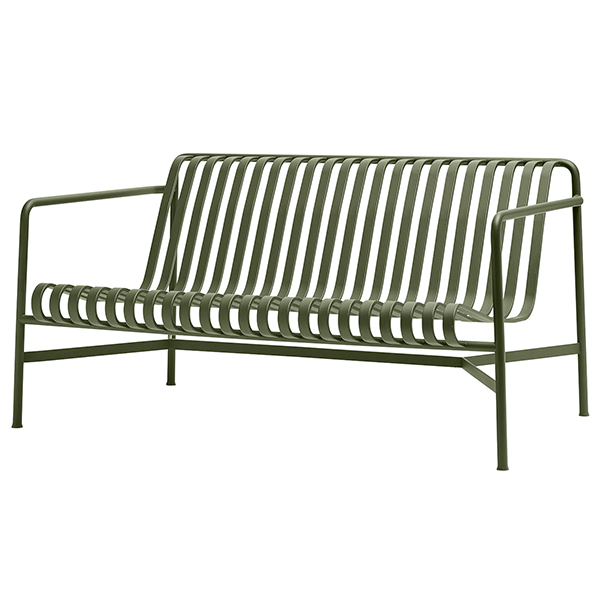 Svært Hay Palissade lounge sofa, olive | Finnish Design Shop BA-98