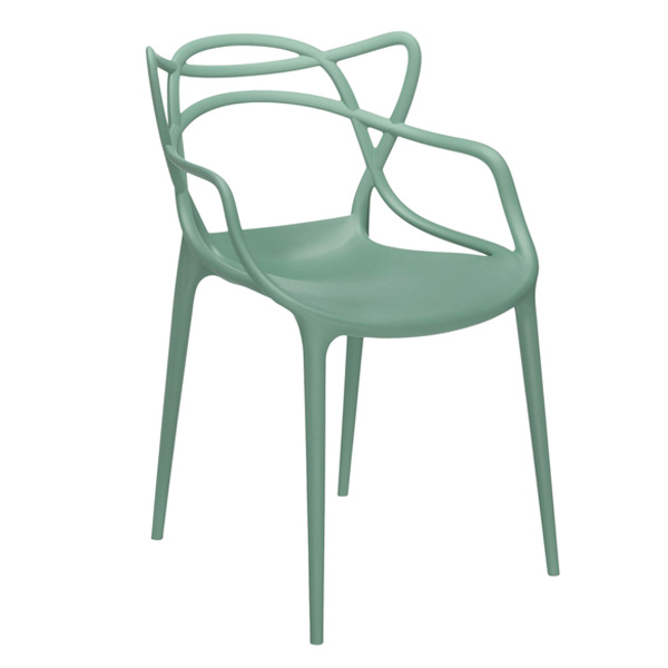 Kartell Masters chair, sage green | Finnish Design Shop