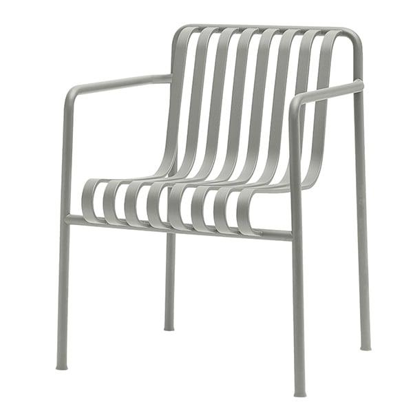Hay Palissade Dining Armchair, Light Grey