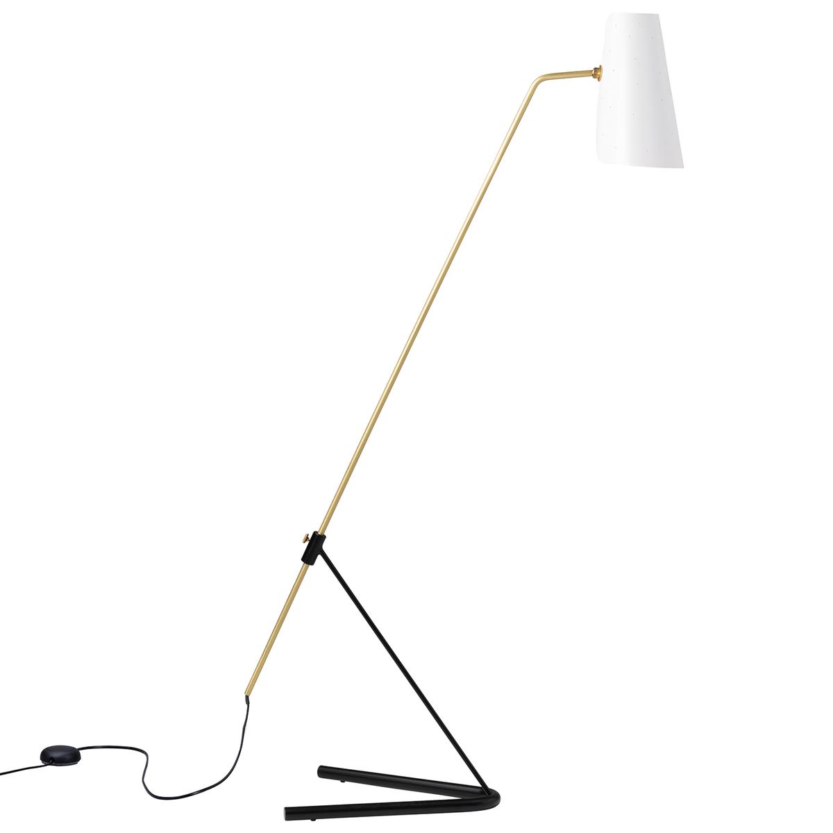 Sammode G21 Floor Lamp, Perforated White
