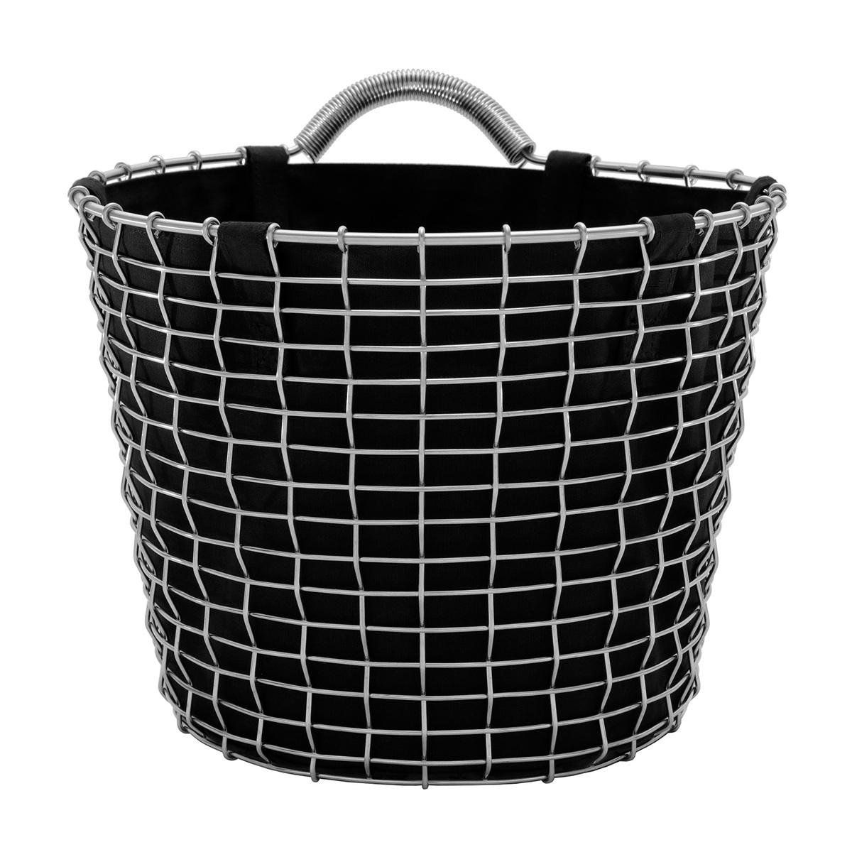 Korbo Basket Liner 24 L, musta