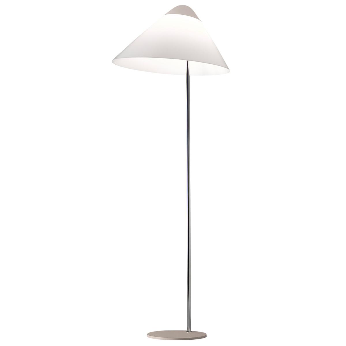 Pandul Opala Maxi Floor Lamp, Light Grey