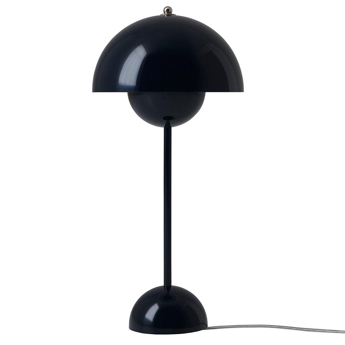 Tradition flowerpot vp3 table lamp black blue finnish design shop