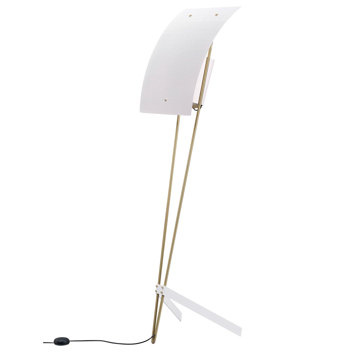 Sammode G30 Floor Lamp, White - White