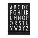 Design Letters ABC muistikirja, musta