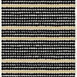 Tessuto Räsymatto, oro-nero-bianco