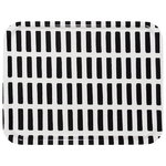 Siena tray, white-black, 43 x 33 cm