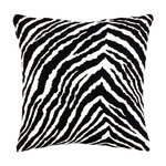 Zebra cushion cover 40 x 40 cm