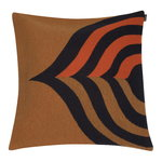 Keisarinkruunu cushion cover 50 x 50 cm, brown - black - orange