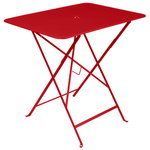 Bistro table 77 x 57 cm, poppy red