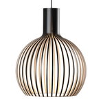 Octo Small 4241 pendant, black