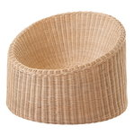 Elephant Boot lounge chair, rattan