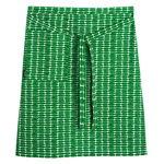 Alku half apron, green