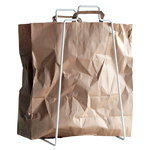 Helsinki paper bag holder, white