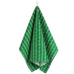 Alku tea towel, green