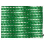 Alku coated cotton placemat, green