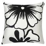 Eläköön elämä cushion cover 50 x 50 cm, grey-white-black