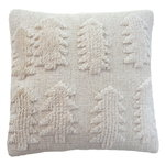 Forest cushion 45 x 45 cm, natural