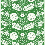 Onni fabric, green