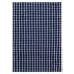 Hale tea towel, dark blue - off white