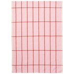 Hale tea towel, rose - rust