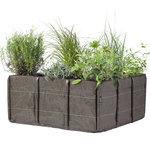 Bacsquare 9 fabric planter, 330 L