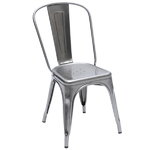 A chair, metal