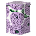 Primavera tin box, white - violet - green